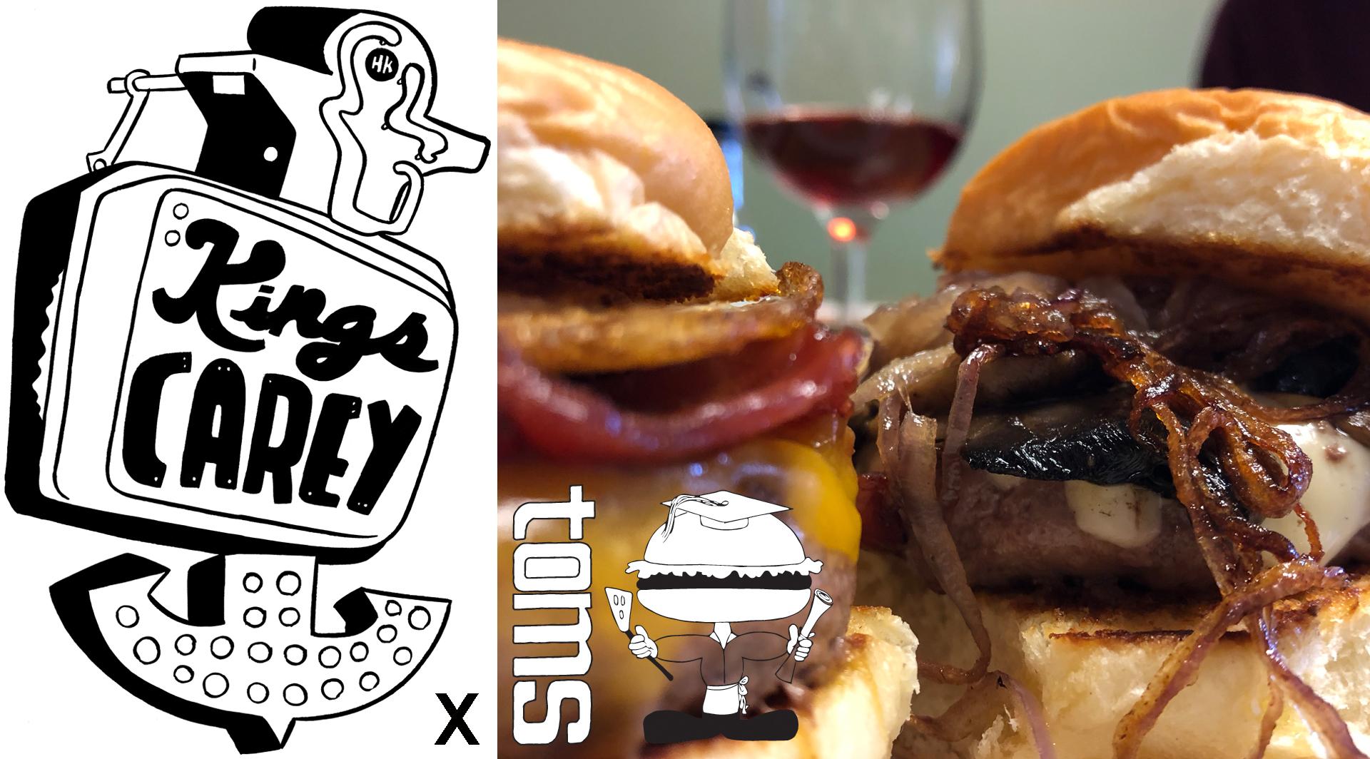 Kings Carey Wines x Tom's Burgers Pop-Up